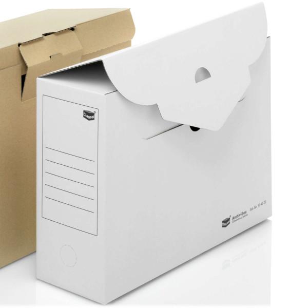 104522 Archivboxen weiß