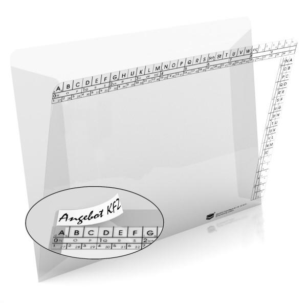 Klarsichtmappen, transparent, 250 g/qm