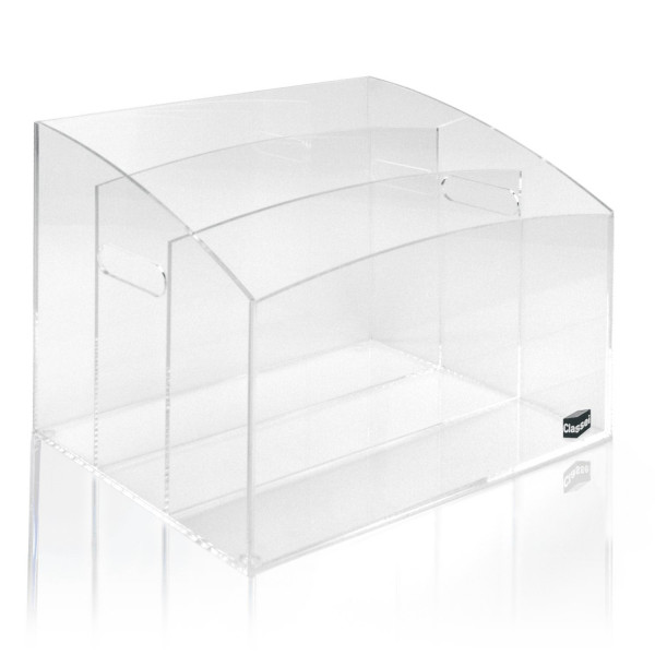 Projekt-Box, glasklar
