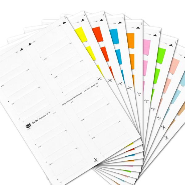Big-Tabs Sortiment(Farben 00-09)