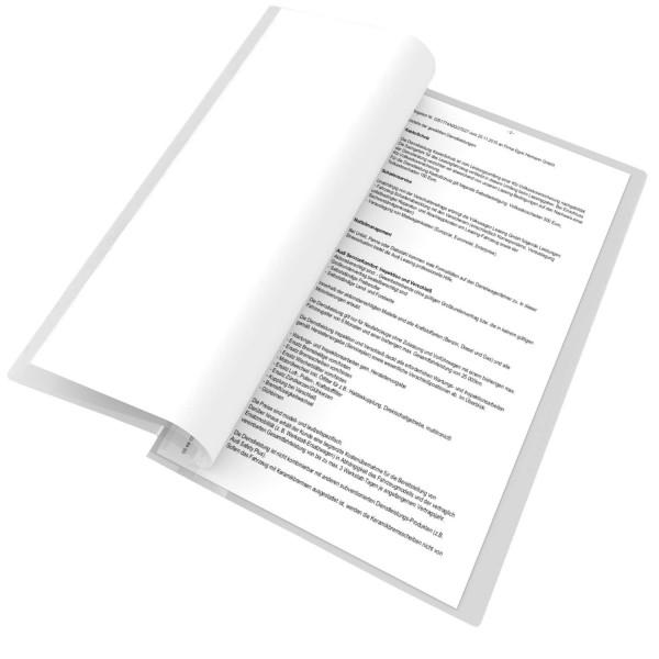 224553, Blättersicht-Hülle, transparent