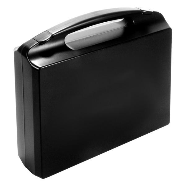 GO-Koffer für 1 Orga-Box, PP, schwarz