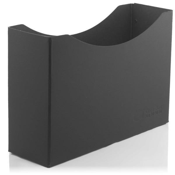 Orga-Hartpappeboxen (FSC®), schwarz