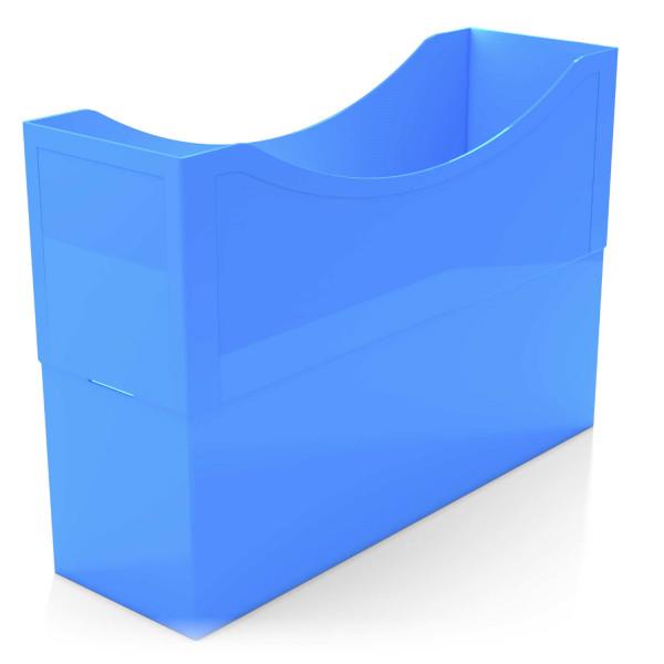 Kunststoffboxen azure blue