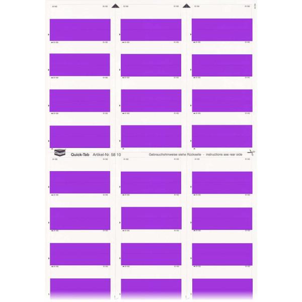 581015 Quick-Tabs violett
