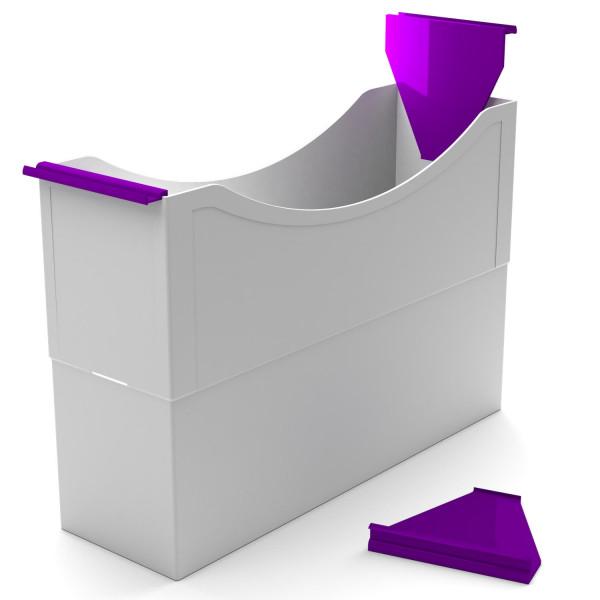 Hängeleisten purple violet f. Kst. Box
