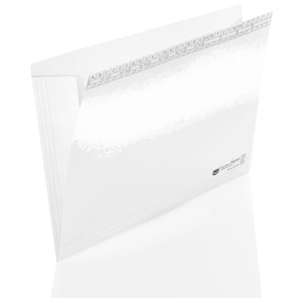 204045/00 Orgamappen Elegance weiß 250g