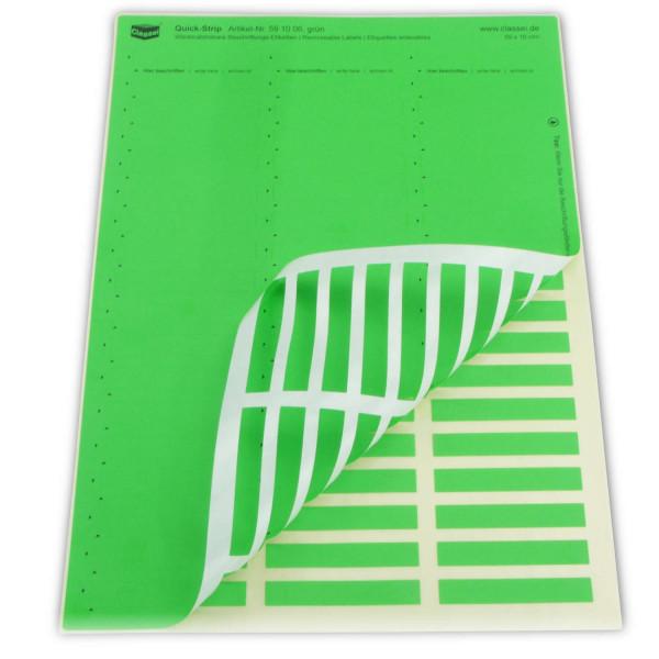 Quick-Strip, grün, ablösbar