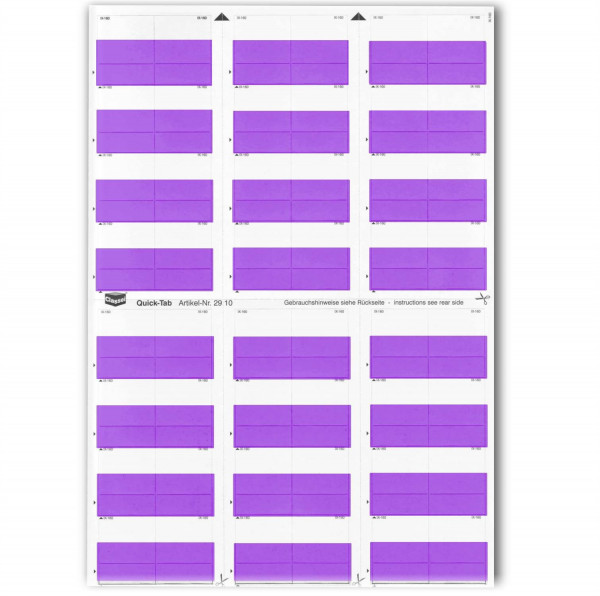 Quick-Tabs violett