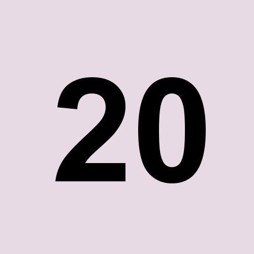 20 - grauviolett