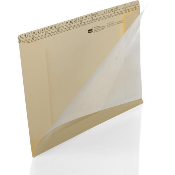 Kombi-Mappen, hg 170 g/m² mit Klarsichthülle