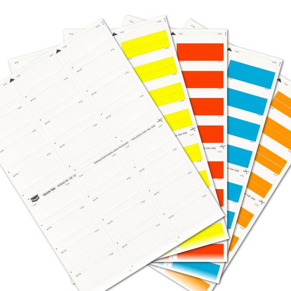 Quick-Tabs Sortiment (Farben 00-04)