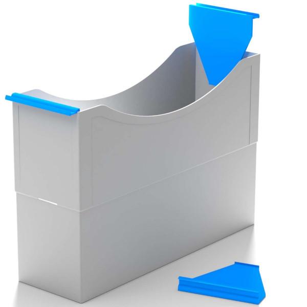 Hängeleisten azure blue f. Kst. Box
