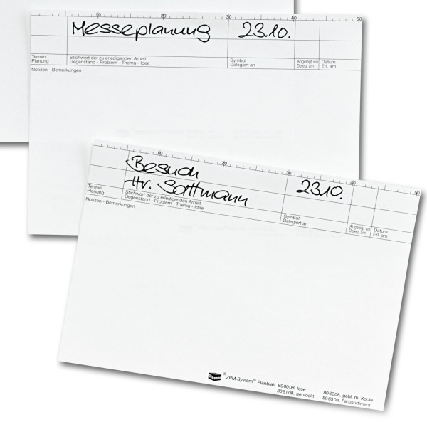 Planblätter, 80 g/qm, Block/ 25 Blatt
