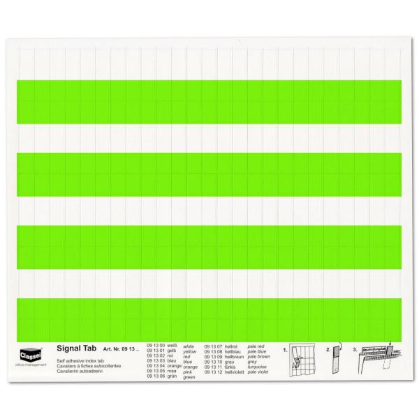 Signal-Tabs grün
