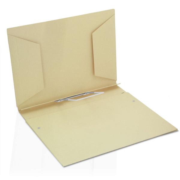 234140 Heft-Dehn-Mappen 400 g/m², hellgelb