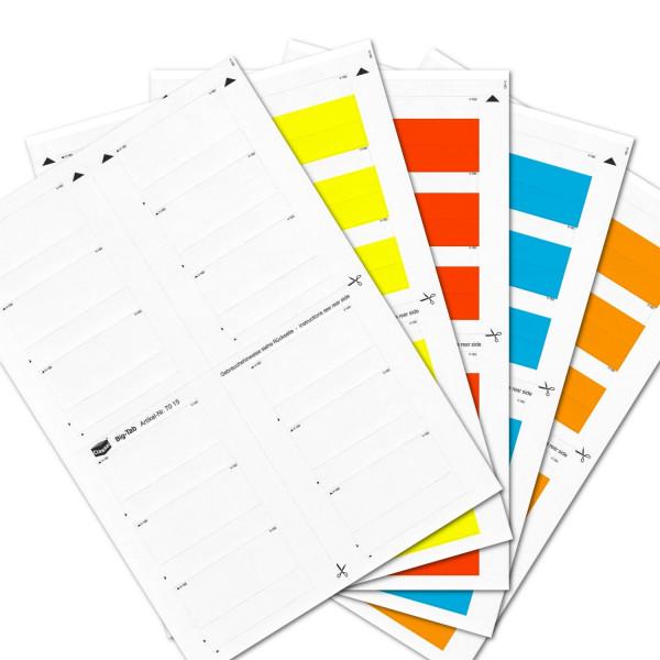 Big-Tabs Sortiment(Farben 00-04)