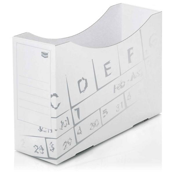Orgaboxen, Karton, weiß